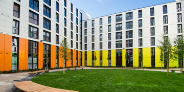 Bainfield student accommodation exterior
