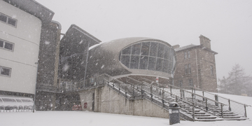 Craiglockhart campus in the snow